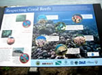 Coral Reef Signage