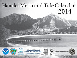 2014 Hanalei Moon and Tide Calendar.
