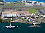 NOAA's Daniel K. Inouye Regional Center (IRC) on Ford Island.