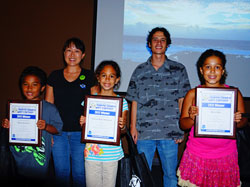 Winners of the MDC Marine Debris Art contest.