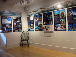 Lost on a Reef: The Nantucket Whaleship <em>Two Brothers</em> exhibit.