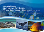 "National ""Get Into Your Sanctuary"" Day flyer."