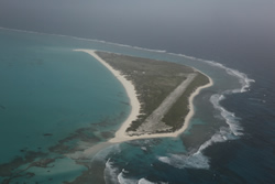 Kure Atoll is the northernmost island in the Hawaiian Archipelago and the first to experience tsunami impacts.