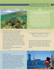 Papahānaumokuākea World Heritage brochure
