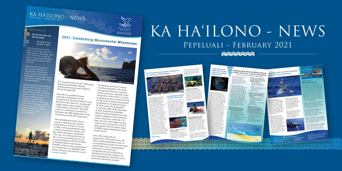 KA HA'ILONO - NEWS, Pepeluali - February 2021 Newsletter